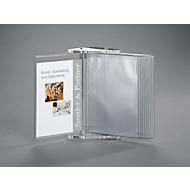 Acryl-Sichttafelsystem, inkl. 10 Sichttafeln