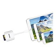ADATA AI910 Lightning Card Reader Plus - Three-Way Share - Kartenleser - Lightning/USB 2.0