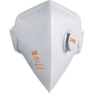 Ademhalingsmasker Uvex Silv-Air 3210, FFP 2 NR D, vouwmasker met uitademventiel, 15 st.