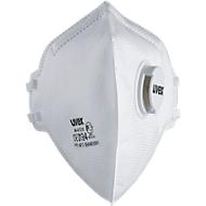 Ademhalingsmasker Uvex silv-Air 3310, FFP 3 NR D, opvouwbaar masker met uitademventiel, wit, 15 st.