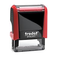 Adress-Stempel trodat® Printy 4911, rot