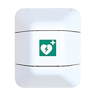 AED-kast, B 434 x D 225 x H 528 mm, wit