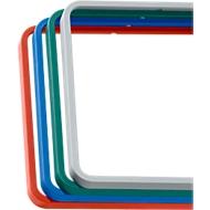 Afdekframe voor deurbord MAXI, rood, 3 stuks