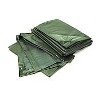 Afdekzeil, standaard, 4 x 6 m, groen