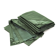Afdekzeil, standaard, groen, 6 x 10 m