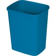 Afvalbak Probbax, rechthoekig, met uitneembare inleg, polypropyleen, blauw , 25 liter