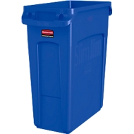 Afvalbak Slim Jim®, kunststof, volume 60 liter, blauw