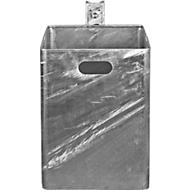 Afvalbak, thermisch verzinkt
