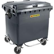 Afvalcontainer MGB 660 FDP, kunststof, 660 l, antraciet