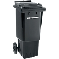 AfvalcontainerGMT 60 l, verrijdbaar, antraciet
