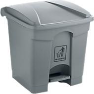 Afvalsorteersysteem, 30 l, grijs