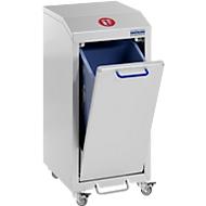 Afvalsorteersysteem G-collect X 2001, L 370 x B 490 x H 800 mm, enkel