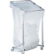 Afvalsorteersysteem groot volume MEGA, met wielen, inhoud 1000 liter