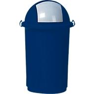 Afvalsorteersysteem, kunststof, blauw