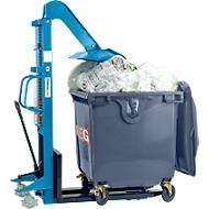 Afvalverdichting of HanseLifter® LiftPress LP1100, 2-delig, voor standaard afvalcontainers met een volume van 800-1100 l, CE-gecertificeerd