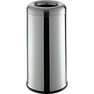 Afvalverzamelaar Bullet-Open-Top, 60 l, rvs