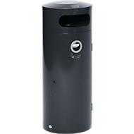 Afvalverzamelaar KS 70, met geïntegreerde asbak, antraciet