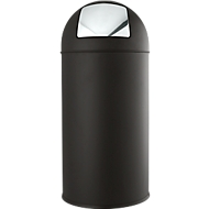 Afvalverzamelaar, zwart, 40 l