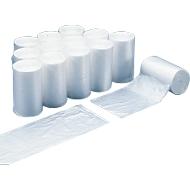 Afvalzakken, 60 liter, 35 micron, wit