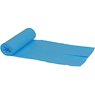 Afvalzakken, L800 x B 550 mm,40 liter, blauw, pak van 320 stuks
