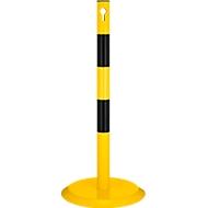 Afzetpaal, geel/zwart