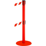 Afzetpaal RS-Guidesystems GLA 95, rood/rood/wit