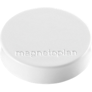 Aimants Ergo ,,Medium'', blanc, 10 pièces