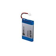 Akku Safescan LB-205, für Geldwaage 6165 & 6185, für bis zu 30 Stunden, wiederaufladbar, blau-grau