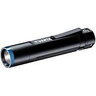 Akku-Taschenlampe VARTA Nightcutter F20R, 4 Leuchtmodi, 400 lm, 150 m Reichweite, ø 34 x H 160 mm