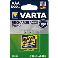 Akkus von VARTA, Micro AAA, 2 Stück