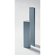 Akoestisch hoekelement Sound Balance, horizontale/verticale montage, L 800 x B 150 x H 150 mm, donkergrijs