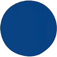 Akoestisch wandpaneel cirkel, Ø 1000 mm, polyestervlies in viltlook, blauw RAL 5005
