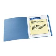 Aktendeckel, DIN A4, Karton, blau