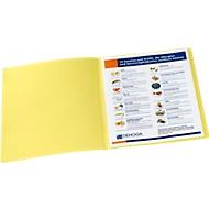 Aktendeckel, DIN A4, Karton, gelb