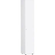 Aktenschrank PALENQUE, 6 OH, B 400 x T 420 x H 2160 mm, weiß