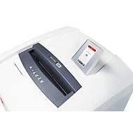Aktenvernichter HSM SECURIO P36i, Partikelschnitt 1,9 x 15 mm, P-5, 145 l, CD-Schneidwerk, weiß