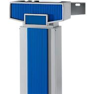 Akzentleisten PLANOVA ERGOSTYLE, einstufige Verstellung, 45° + 90 °, blau, 9 Stück