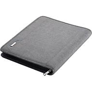 Alassio Orgamappe Lazio, DIN A4, Polyester, mit gepolstertem Tabletfach, schwarz