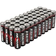 Alkaline batterijen Ansmann, micro AAA, levensduur 7 jaar, 40 stuks