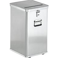 Alu data-afvalbak D 1009, 80 liter