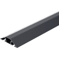 Alu-Kabelbrücken-Set, L 400 mm, schiefergrau