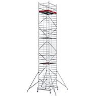 Alu-rolsteiger breed, stahoogte ca. 9300 mm