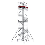 Alu-rolsteiger breed, Werkhoogte ca. 9300 mm