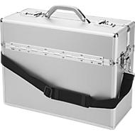 ALUMAXX Pilotenkoffer, mit Tragegriff, 1 Fach, Aluminium, silber