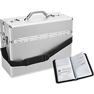ALUMAXX® Pilotenkoffer, mit Tragegriff, 1 Fach, Leichtmetall, silber