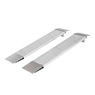 Aluminium oprijplaten, B 300 mm, L 1500 mm, 10 kg