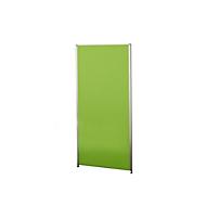 Aluna-scheidingswand, 1000 x 1800 mm, groen