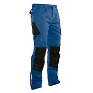Ambachtelijke broek met tailleband Jobman 2321 PRACTICAL, met kniezakken, blauw I zwart, maat 48