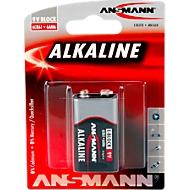 Ansmann Alkaline Block E batterijen, 9 volt, extra lange levensduur, 1 stuk