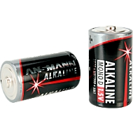 Ansmann Batterijen Mono D, 1,5 Volt, 2 stuks